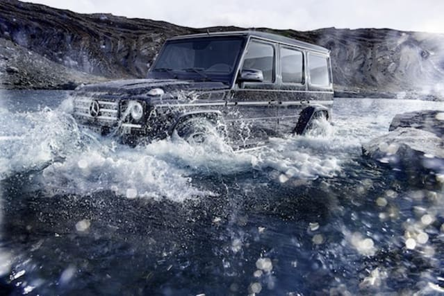 Refreshed Mercedes G-Class
