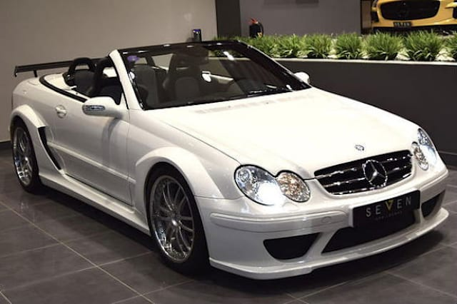 Super-rare Mercedes CLK DTM AMG for sale