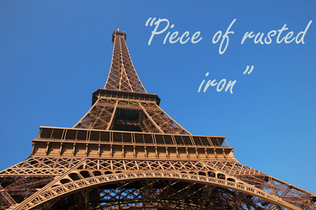 Indifferent reactions to the world's top landmarks
