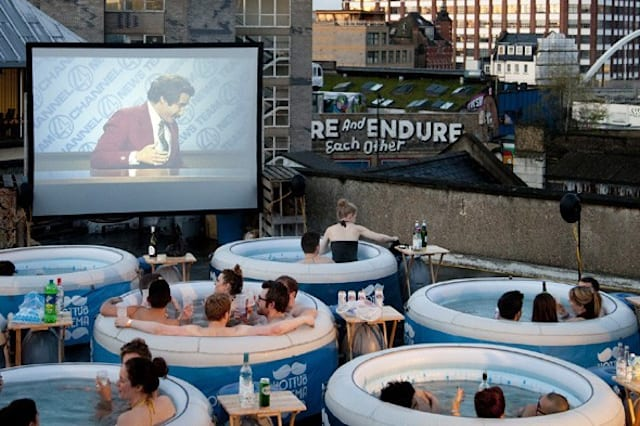 Unusual places to watch films this summer (2015)