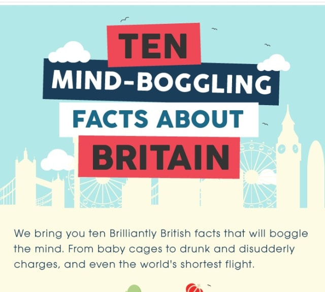 10 mind-boggling facts about Britain
