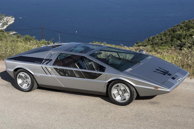Maserati Boomerang one-off concept up for sale