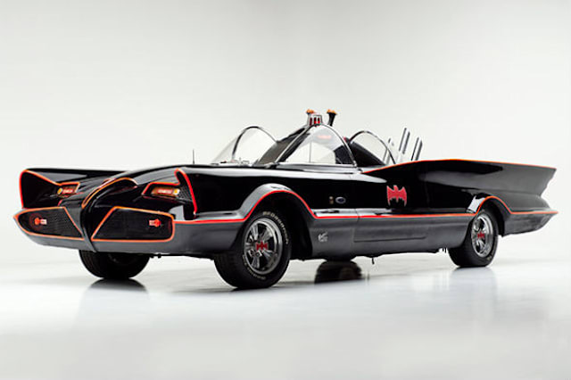 Original Batmobile goes up for sale
