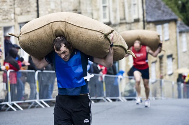 England's quirkiest annual events