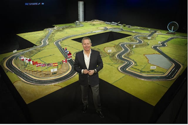 Ultimate Scalextric set up for auction