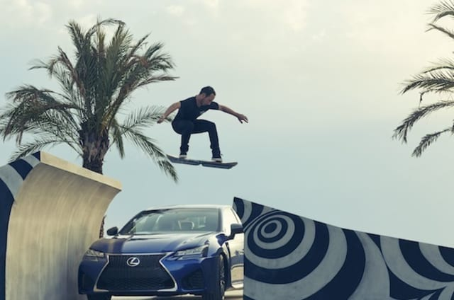 Lexus launches its real-life hoverboard that you sadly can't buy