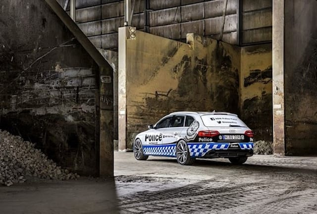 Australian police take delivery of fast Audi