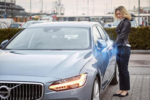 Volvo become first manufacturer to sell car without a key