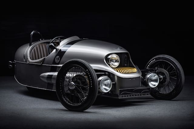 Morgan reveals its classically styled electric three-wheeler