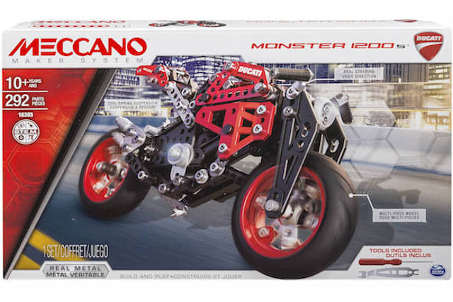 Ducati reveal its cheapest motorcycle yet - the £25 Meccano Monster