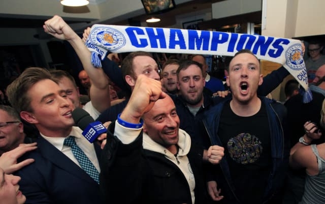 Leicester win Premier League title