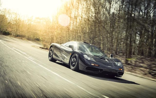McLaren Special Operations offers low-mileage F1 supercar