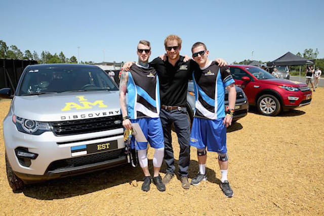 Prince Harry attempts driving challenge at Invictus Games
