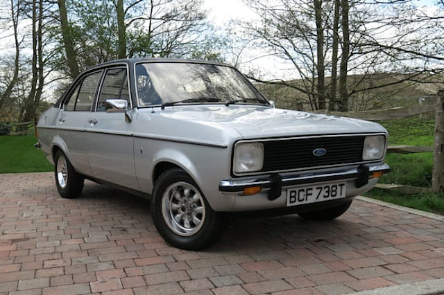 Pristine 1979 Ford Escort heads to auction