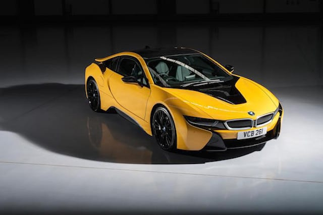 BMW launch individual paint programme for i8 hybrid