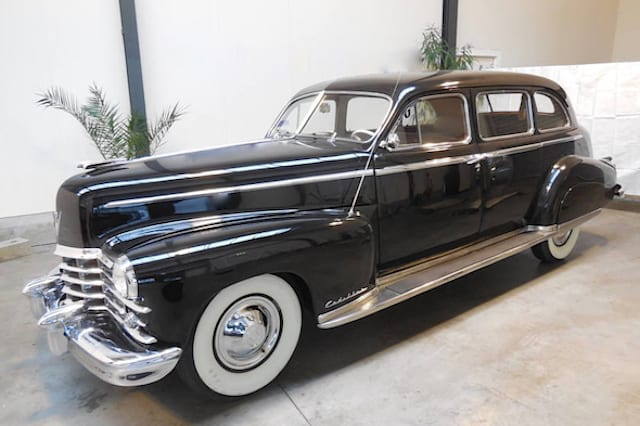 Cadillac with close ties to Kennedy family heads to auction