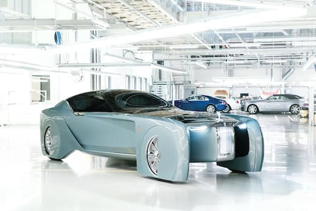 Rolls-Royce gives vision of the future with concept car