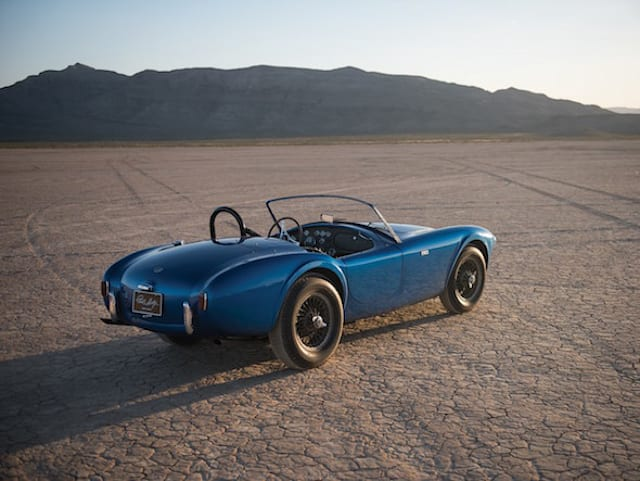 First ever Shelby Cobra goes up for auction