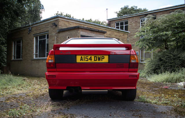 Nigel Mansell-owned Audi Quattro sold at auction