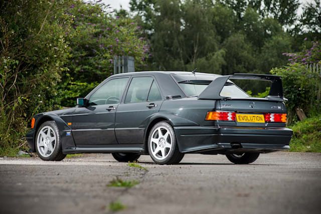 Low-mileage Mercedes 190E Evo II expected to fetch £220k