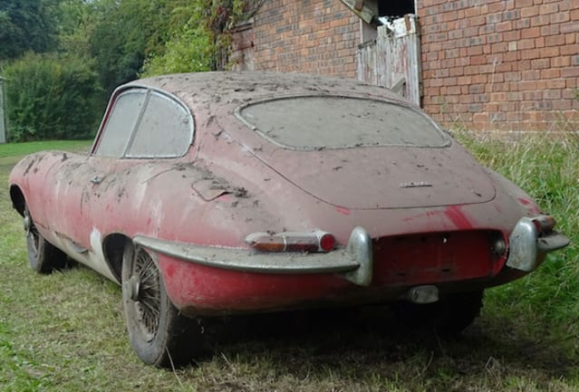 Jaguar E-Type barn find could be a bargain at £45,000