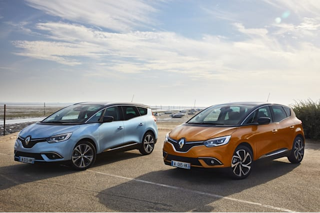 Renault announce prices scénic and grand scénic