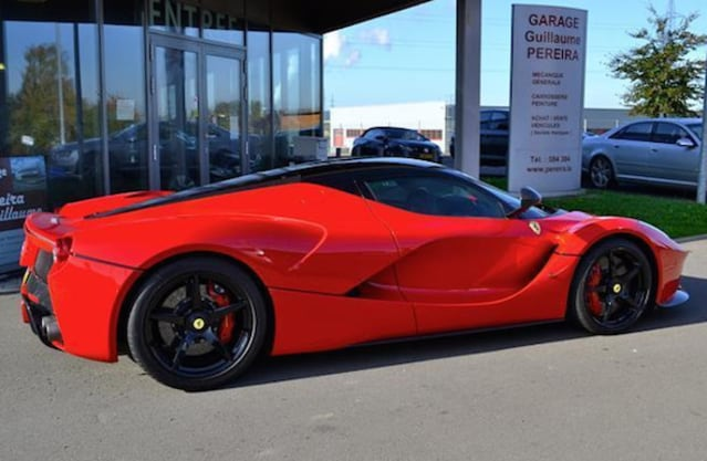 LaFerrari hits the classifieds for £8.6m