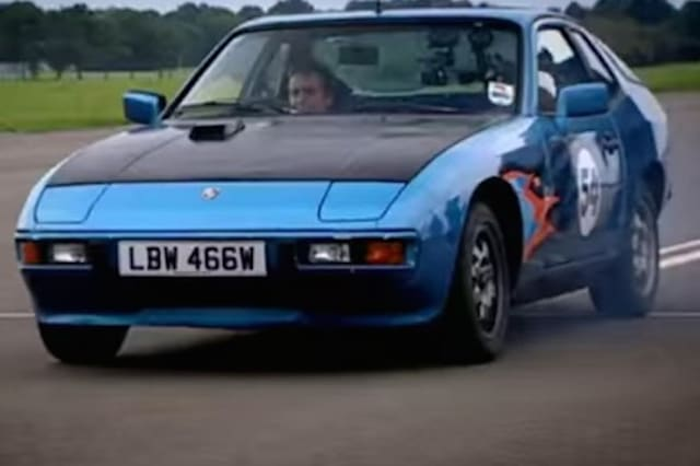 Top Gear's 'cheap Porsche' is  to go to auction