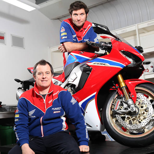 Guy Martin signs with Honda Racing for 2017