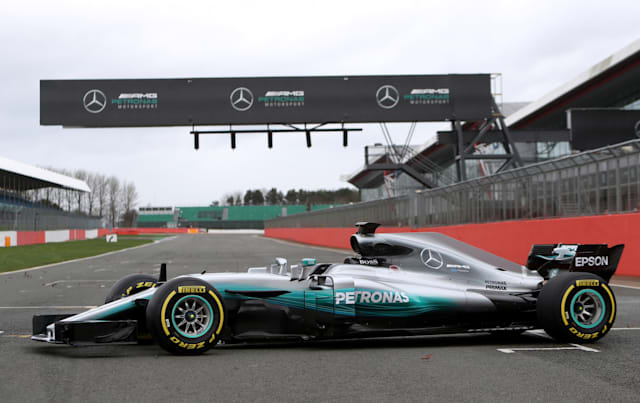 Guide to the 2017 Formula One cars - Mercedes W08