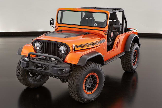 Jeep unveils series of cool concept cars