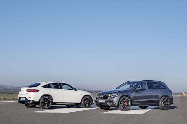 Mercedes reveals outrageous V8-engined GLCs