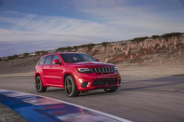 Jeep reveals outrageous new Trackhawk
