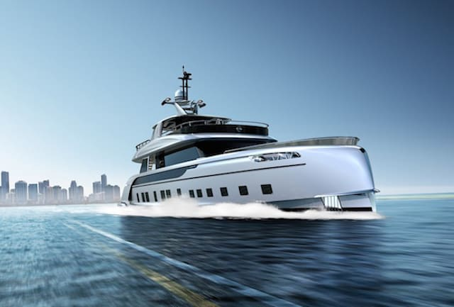 Porsche teams up with luxury yacht maker to create 115-foot speed machine