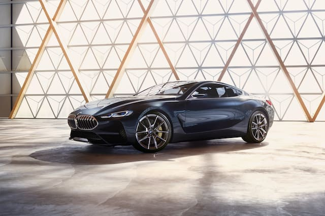 This is the striking new BMW 8 Series concept