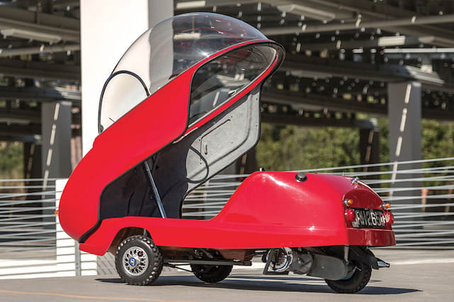 Rare Peel Trident 'microcar' to be auctioned