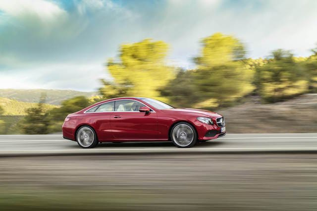 First Drive: Mercedes E Class Coupe