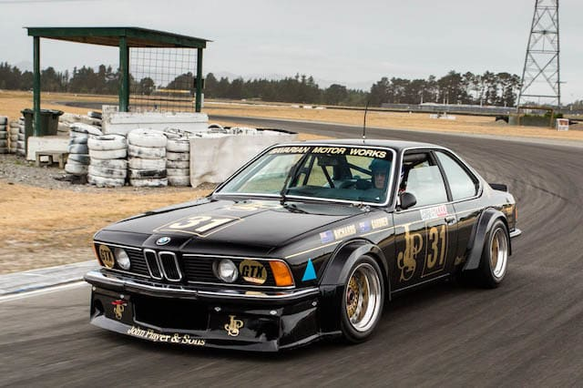 Historic Australasian BMW 635 CSi touring car to debut at Silverstone Classic