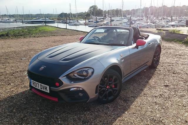First UK Drive: Abarth 124 Spider
