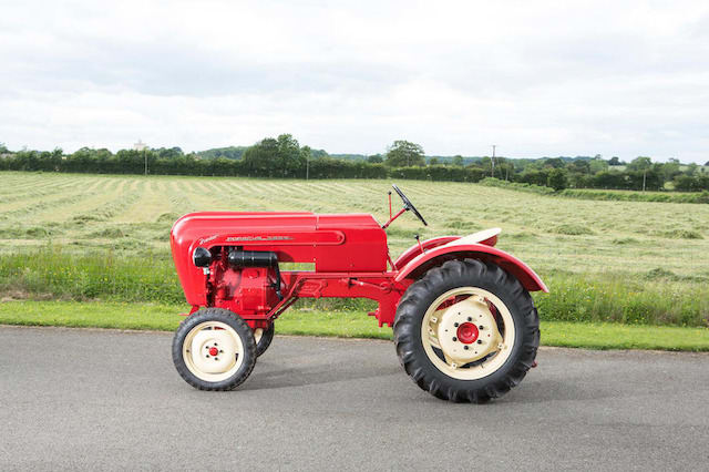 Ultra-rare Porsche tractor to be auctioned