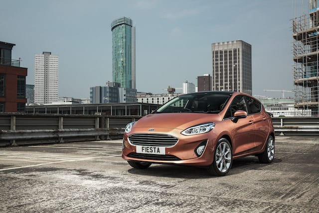 Ford releases the new Ford Fiesta onto the roads of Britain