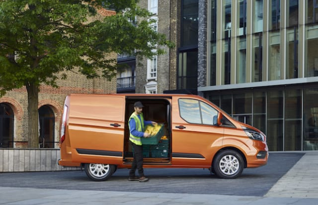Ford takes covers off new Transit