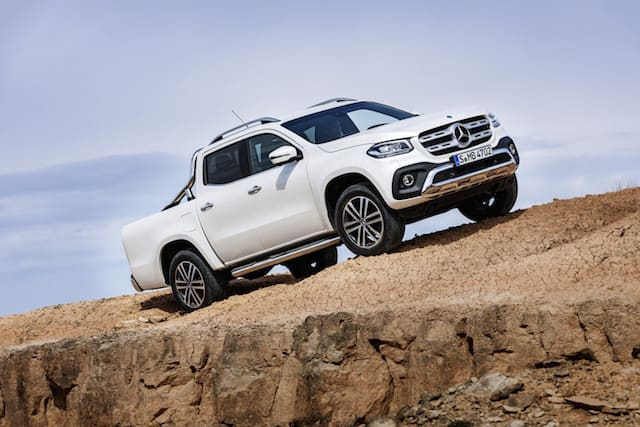 Mercedes reveals its first pick-up