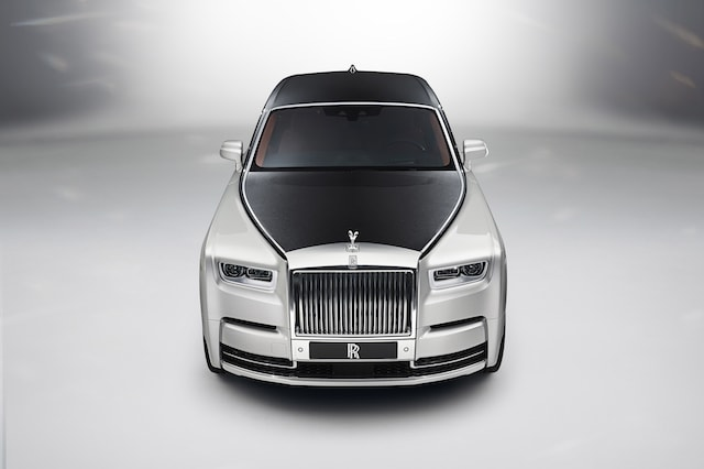 The all-new Rolls Royce Phantom is unveiled