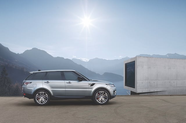 First Drive Range Rover sport SD4