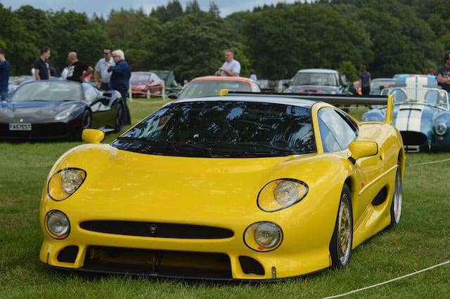The cars of the Beaulieu Supercar Weekend