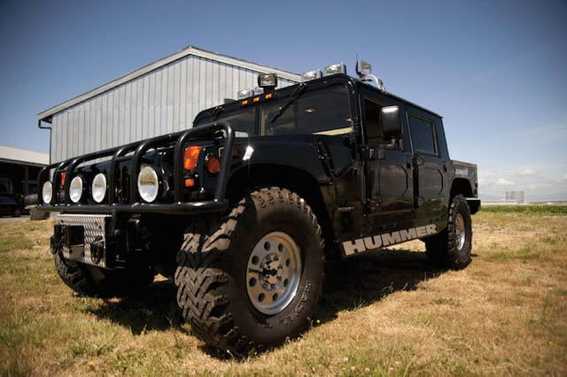 Tupac Shakur's Hummer H1 up for auction