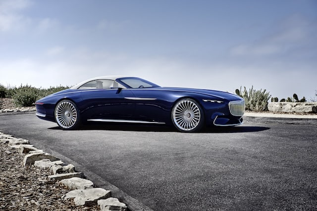 Stunning Mercedes-Maybach 6 Cabriolet concept unveiled