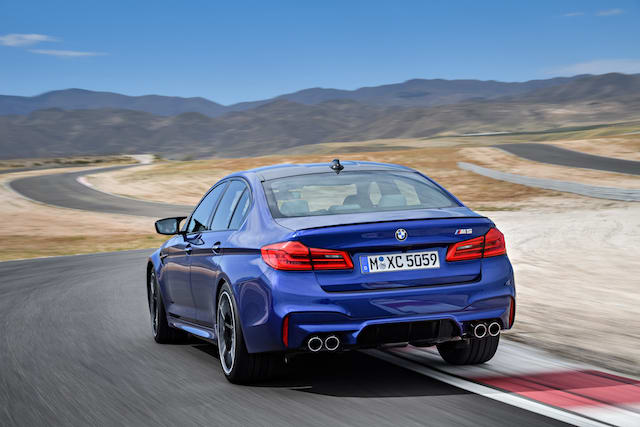 BMW unveils the new M5