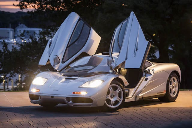 First US McLaren F1 smashes auction records